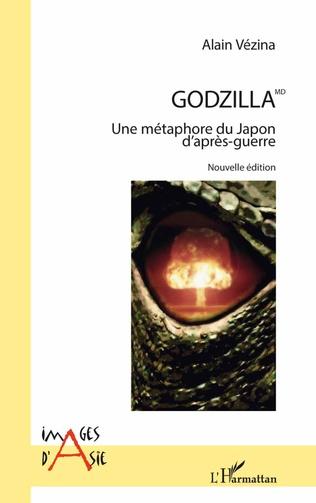 Couverture Godzilla MD
