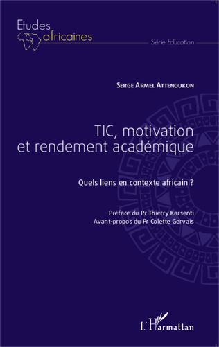 Couverture TIC, motivation et rendement académique