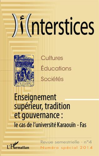 Couverture Enseignement supérieur, tradition et gouvernance :