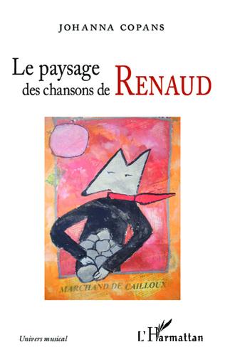 Couverture Le paysage des chansons de Renaud