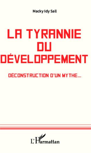 Couverture La tyrannie du développement