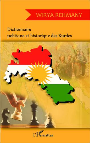Couverture Dictionnaire politique et historique des Kurdes