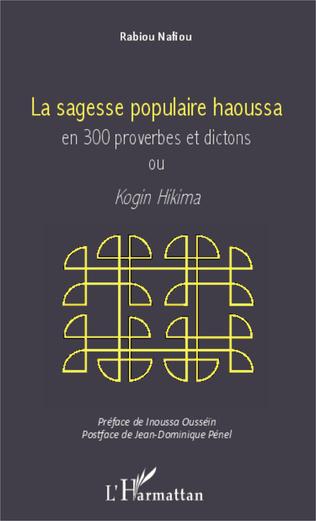 Couverture Sagesse populaire haoussa en 300 proverbes et dictons