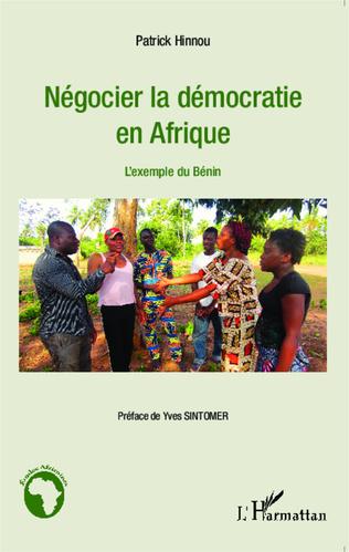Couverture Négocier la démocratie en Afrique