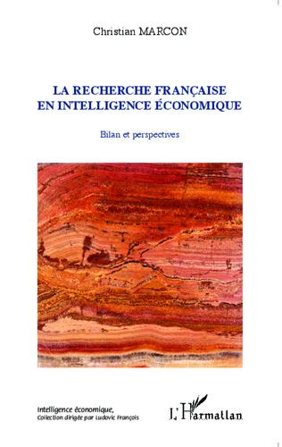 Couverture La recherche française en intelligence économique