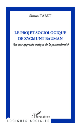 Couverture Le projet sociologique de Zygmunt Bauman