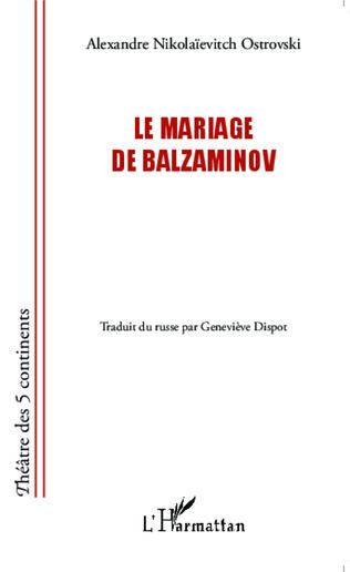 Couverture Le mariage de Balzaminov