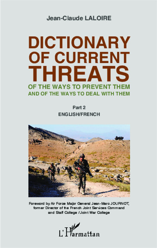 Couverture Dictionary of curent threats