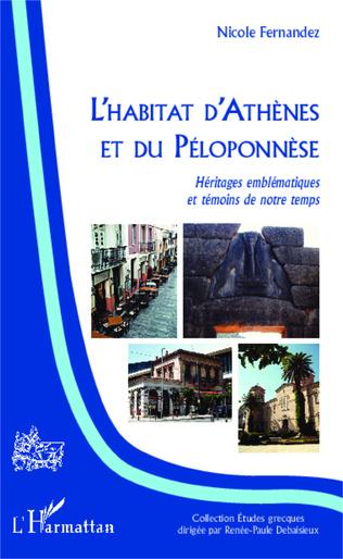 Couverture L'habitat d'Athènes et du Péloponnèse