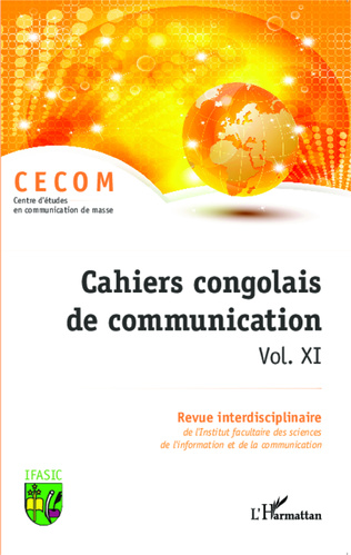 Couverture Cahiers congolais de communication vol. XI