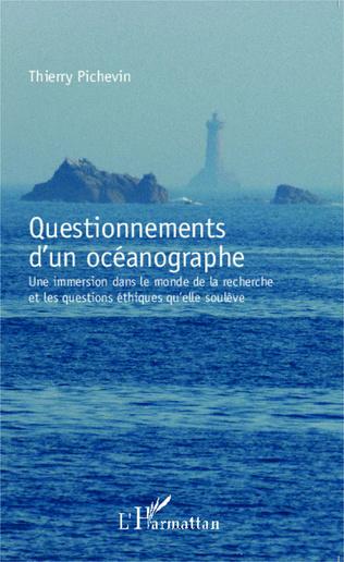 Couverture Questionnements d'un océanographe