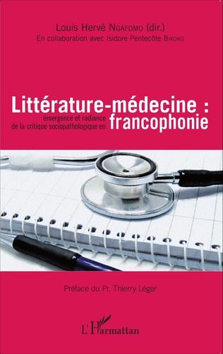 Couverture Littérature-médecine :