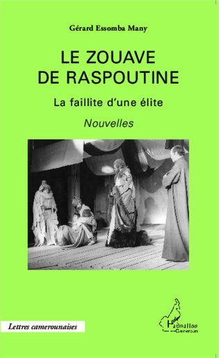 Couverture Le zouave de Raspoutine