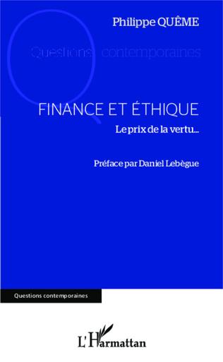 Couverture Finance et éthique