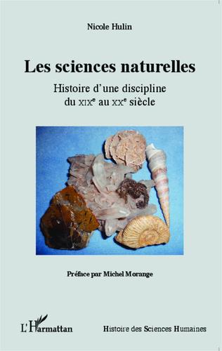Couverture Les sciences naturelles