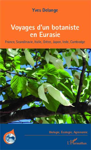 Couverture Voyages d'un botaniste en Eurasie
