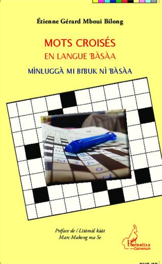 Couverture Mots croisés en langue bàsàa