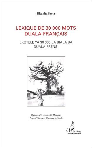 Couverture Lexique de 30 000 mots duala-français
