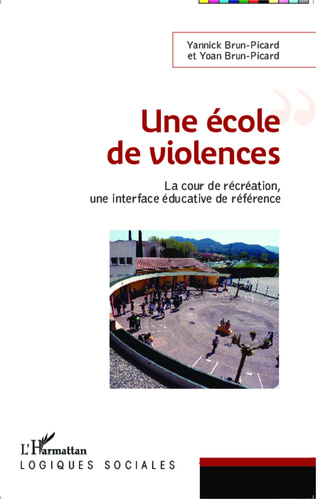 Couverture Une école de violences