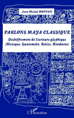 Couverture Parlons maya classique