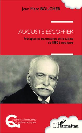 Couverture Auguste Escoffier