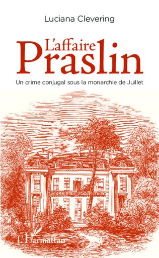 Couverture L'affaire Praslin