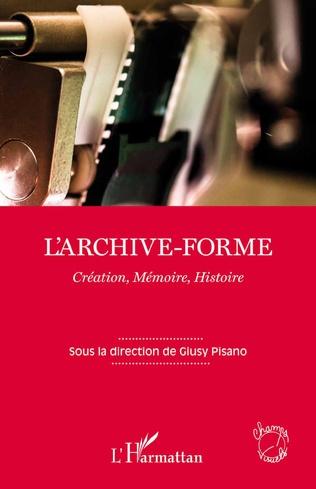Couverture L'archive-forme