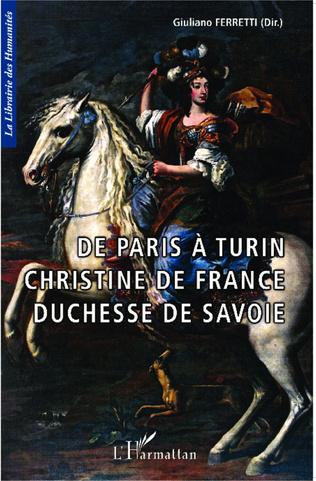 Couverture Christine de France et le peintre lorrain Charles Dauphin