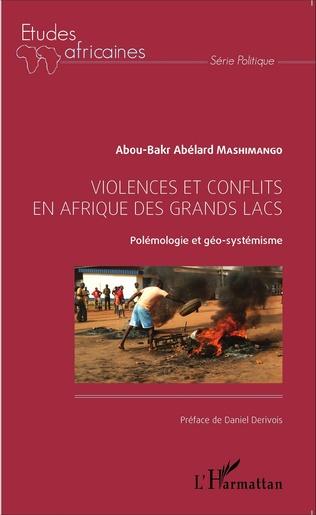 Couverture Violences et conflits en Afrique des Grands Lacs