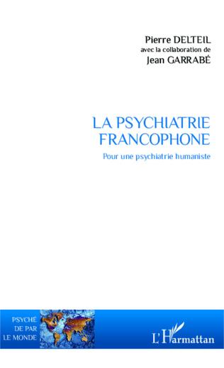 Couverture La psychiatrie francophone