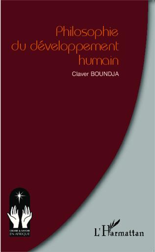 Couverture Philosophie du développement humain