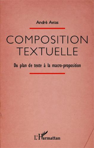 Couverture Composition textuelle