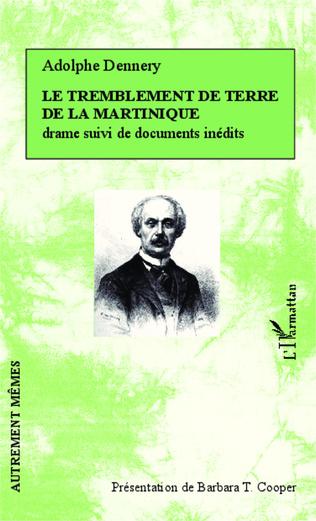Couverture Le tremblement de terre de la Martinique