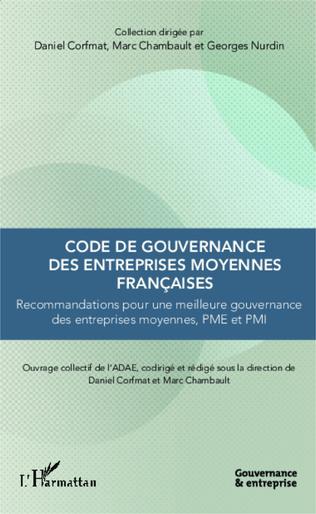 Couverture Code de gouvernance des entreprises moyennes françaises