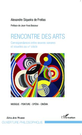 Couverture Rencontre des arts