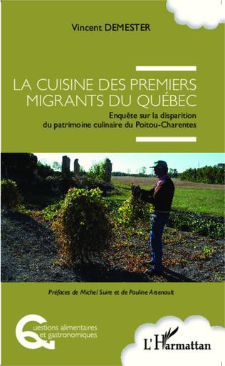 Couverture Cuisine des premiers migrants du Québec