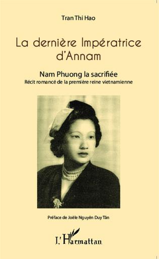 Couverture La dernière Impératrice d'Annam
