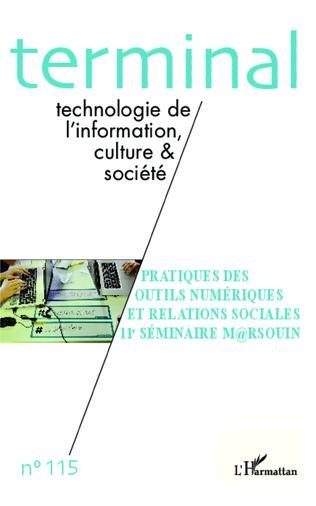 Couverture Pratiques des outils numériques et relations sociales