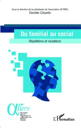 Couverture Du familial au social