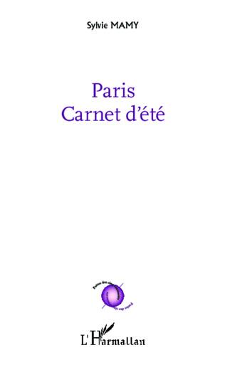 Couverture Paris Carnet d'été