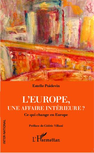 Couverture L'Europe, une affaire intérieure ?