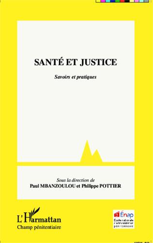 Couverture Santé et justice