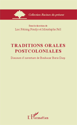 Couverture Traditions orales postcoloniales
