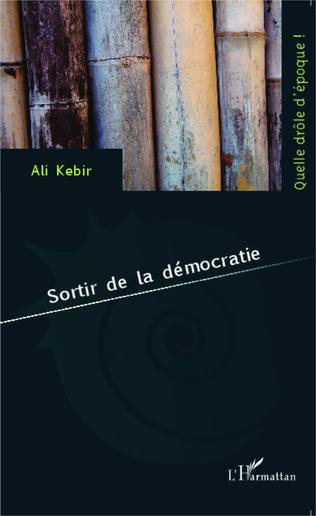 Couverture Sortir de la démocratie