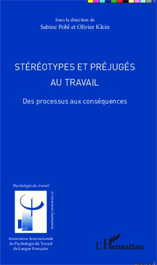 Couverture Stéréotypes et préjugés au travail