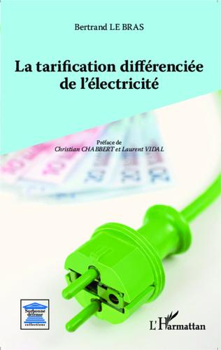 Couverture La tarification différenciée de l'électricité