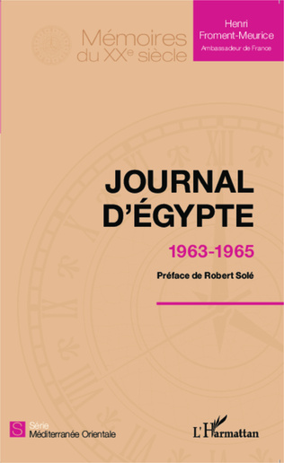 Couverture Journal d'Egypte