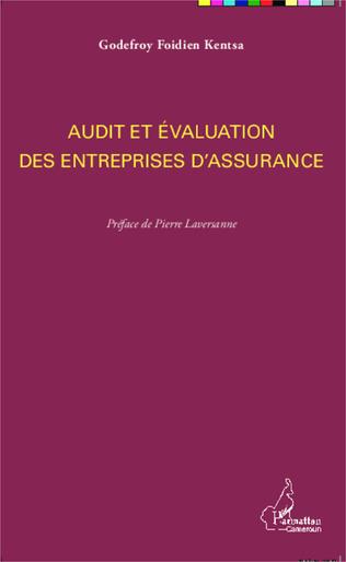 Couverture Audit et évaluation des entreprises d'assurance