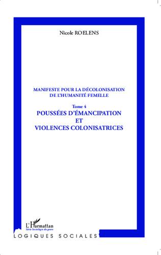 Couverture Manifeste pour la décolonisation de l'humanité femelle