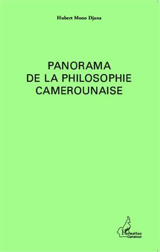 Couverture Panorama de la philosophie au Cameroun